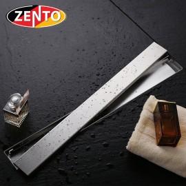 Thoát sàn chống mùi inox304 Zento ZT653-58 (80x580mm)